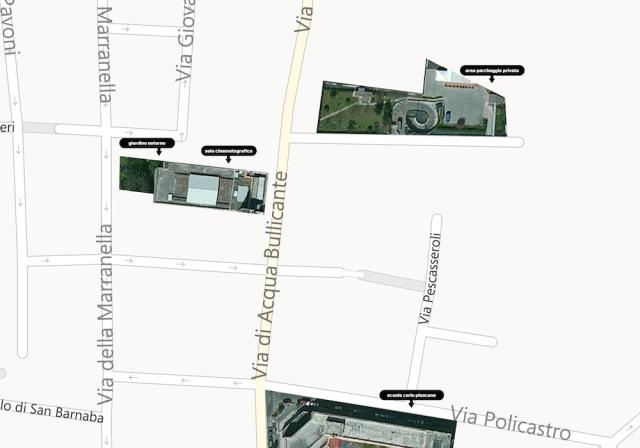 Mappa area urbana